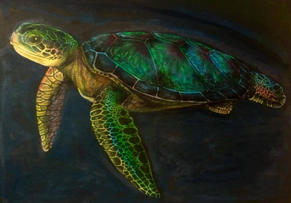 Sea Turtle by Olga Kruse