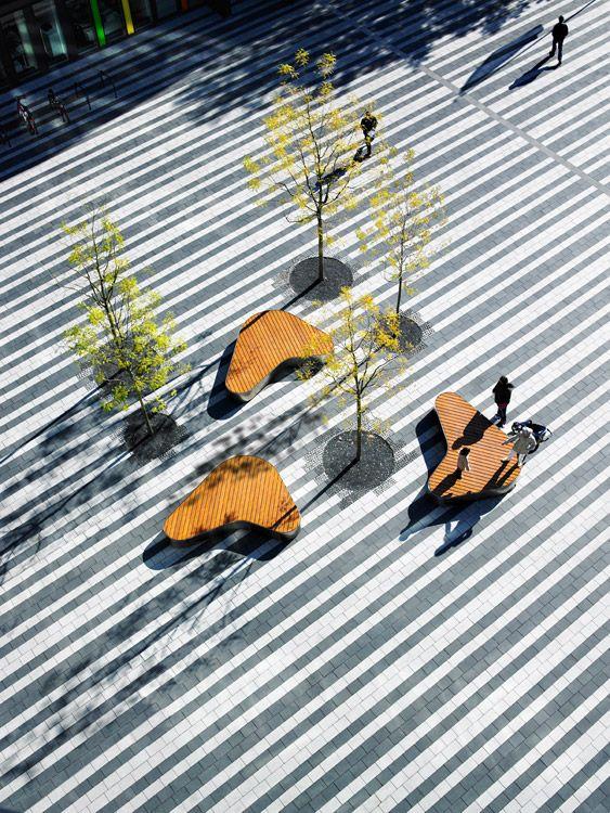 Epic Town Hall Square Solingen Landezine Landscape Architecture Works
