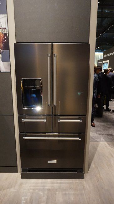 retour sur l 39 eurocucina 2016 cuisines et design r frig rateur cong lateur refrigerateur. Black Bedroom Furniture Sets. Home Design Ideas
