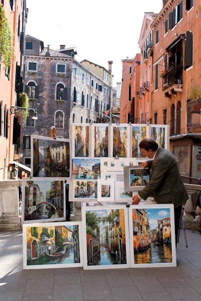 Venice - into the canvas