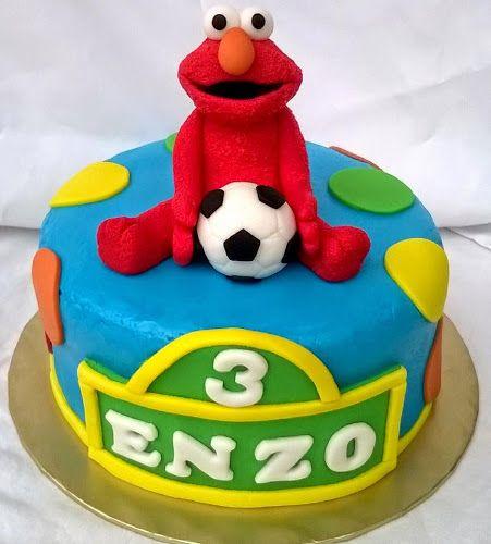 Elmo's Cake