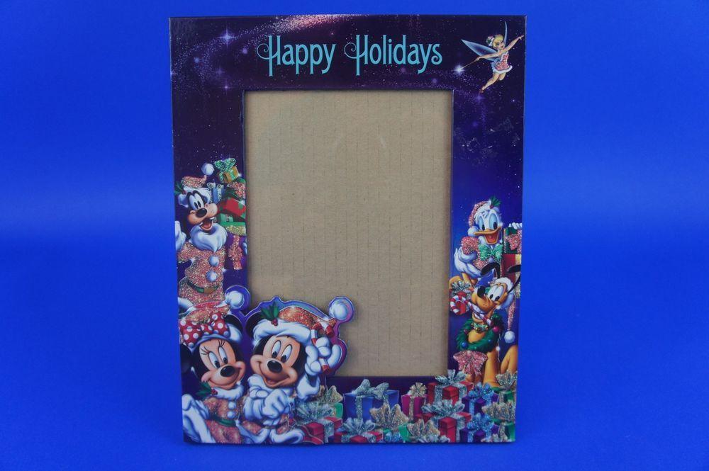 walt disney world photo frame 10 x 8 happy holidays free shipping i14 - Disney World Picture Frames