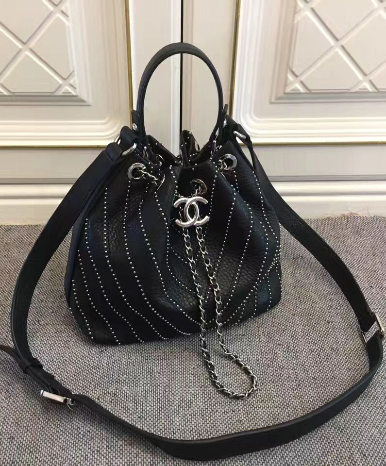 49d46b10f695 Chanel Drawstring Bag A93850 Black. Fashion Women s Best Accessories In  2017.