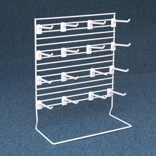 Countertop Grid Merchandise Display Rack with 12 Hooks - ... https://www.amazon.com/dp/B00IHNPVYM/ref=cm_sw_r_pi_dp_x_nV2NybK8NH4M9