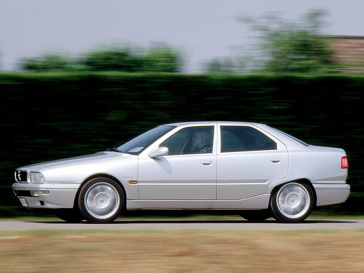 1998-2001 Maserati Quattroporte Evoluzione   Europa, Puesto