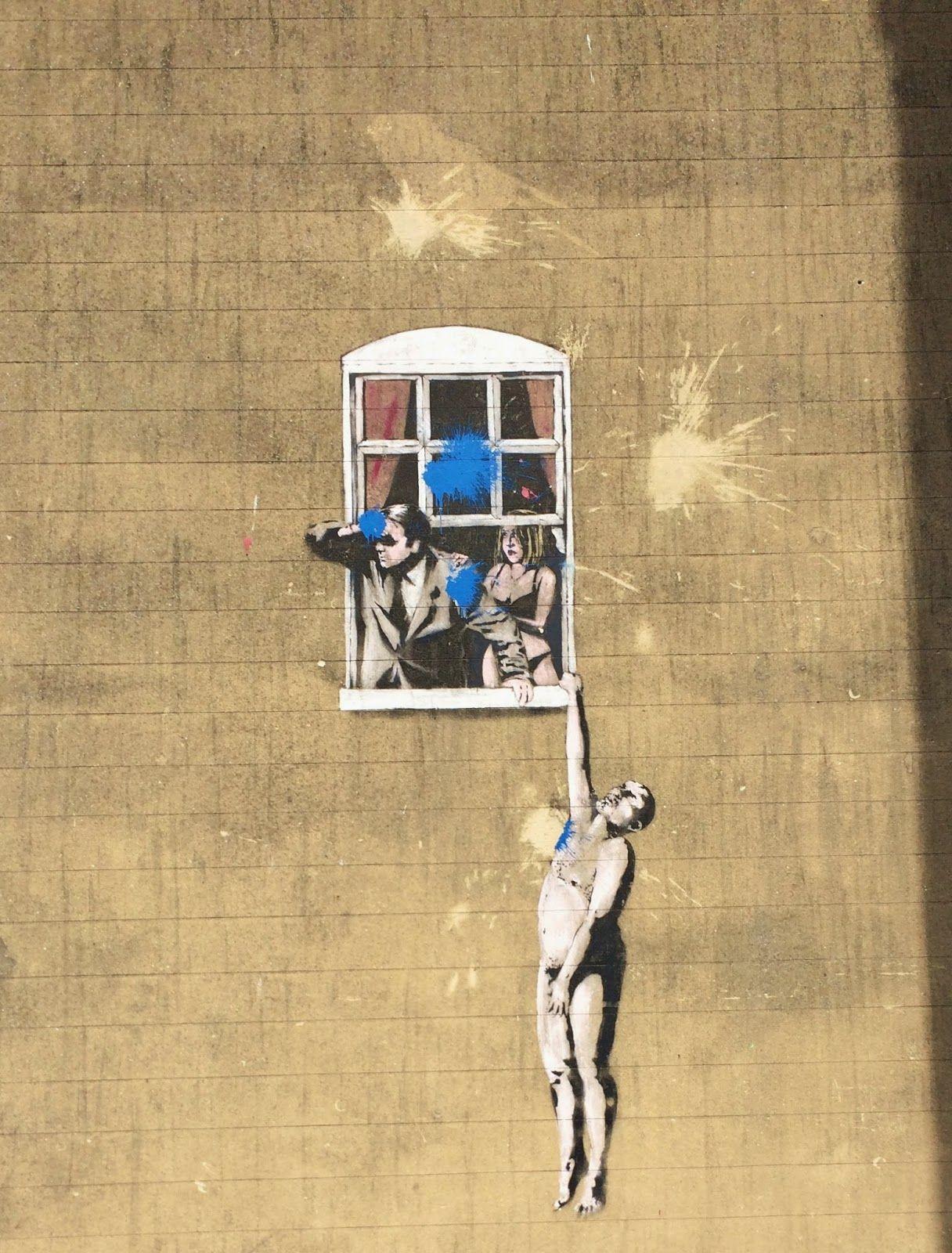 Banksy in Bristol | Jet Setting | Pinterest | Bristol