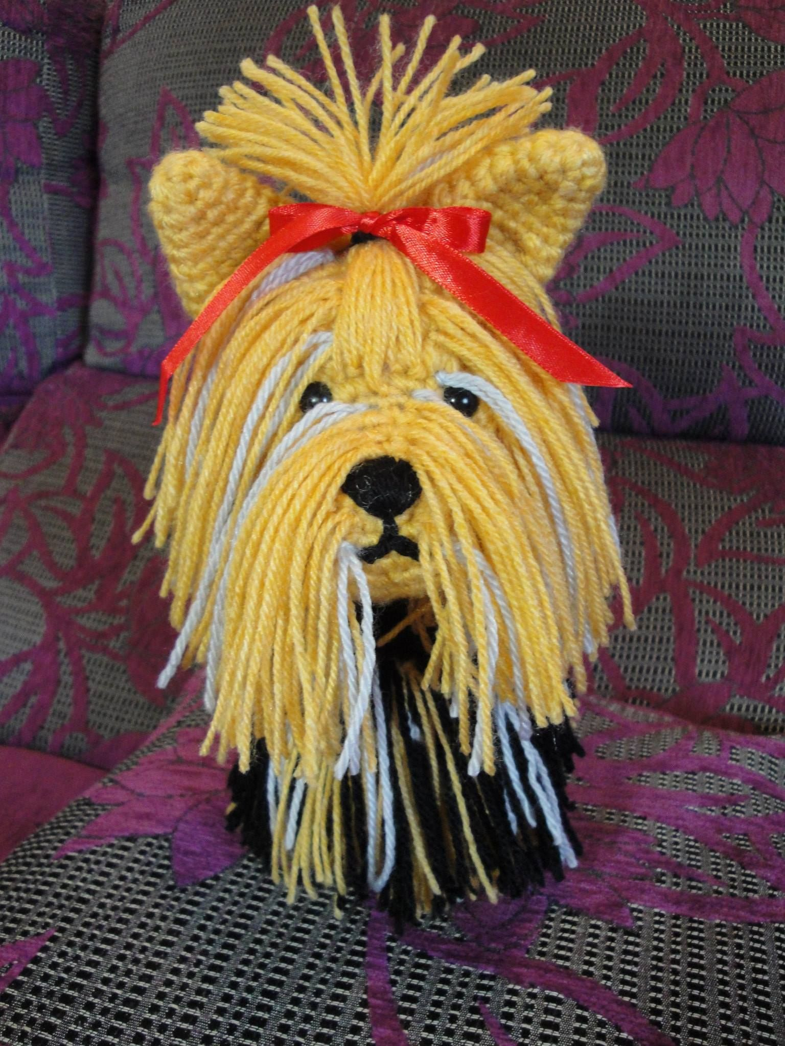 Receita Amigurumi Cachorro - Yorkshire de Crochê TOP 10 ... | 2048x1536