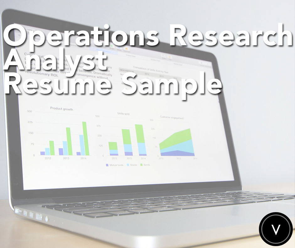 Before You Apply For An Operations Research Analyst Job Check Out Our Resume Samples Jobhunting