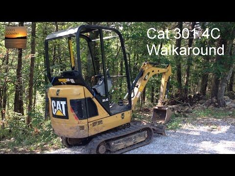 Cat 301.4C Excavator Walkaround - YouTube
