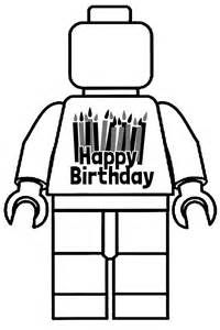 Lego Movie Robot Black And White Coloring Page Happy Birthday Coloring Pages Birthday Coloring Pages Star Wars Happy Birthday