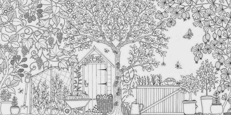 "Download ""Adult Coloring Books - Secret Garden"" for free printable ..."