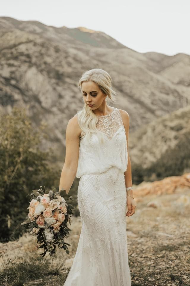 Beaded Wedding Dress Blouson Couture Ed Fantasy Bridal Brides Pinterest Dresses Salt Lake City Utah And