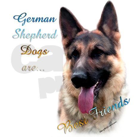 my best friend german shepherd | German Shepherd Best Friend Mug by denofthedog