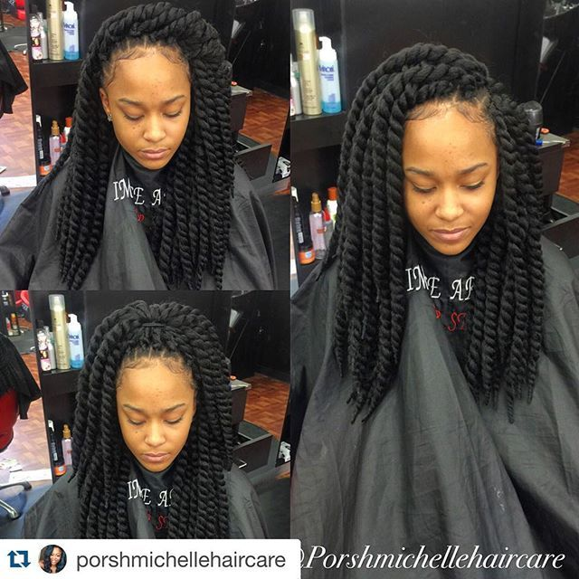 """JANET COLLECTION on Instagram: """"#Repost @porshmichellehaircare ・・・ New uploads! Crotchet Havana Twist by me using #janetcollection follow my studio for more uploaded work…"""""""