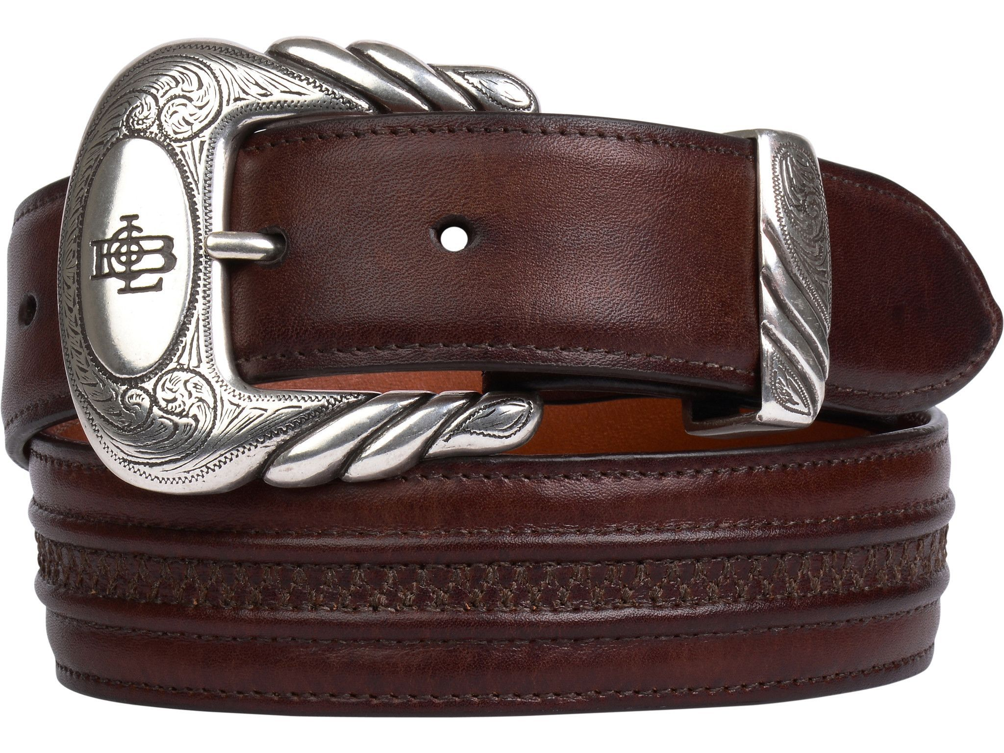 Lucchese W4251H Mens 1.5 Inch Tan Burnished Ranch Hand
