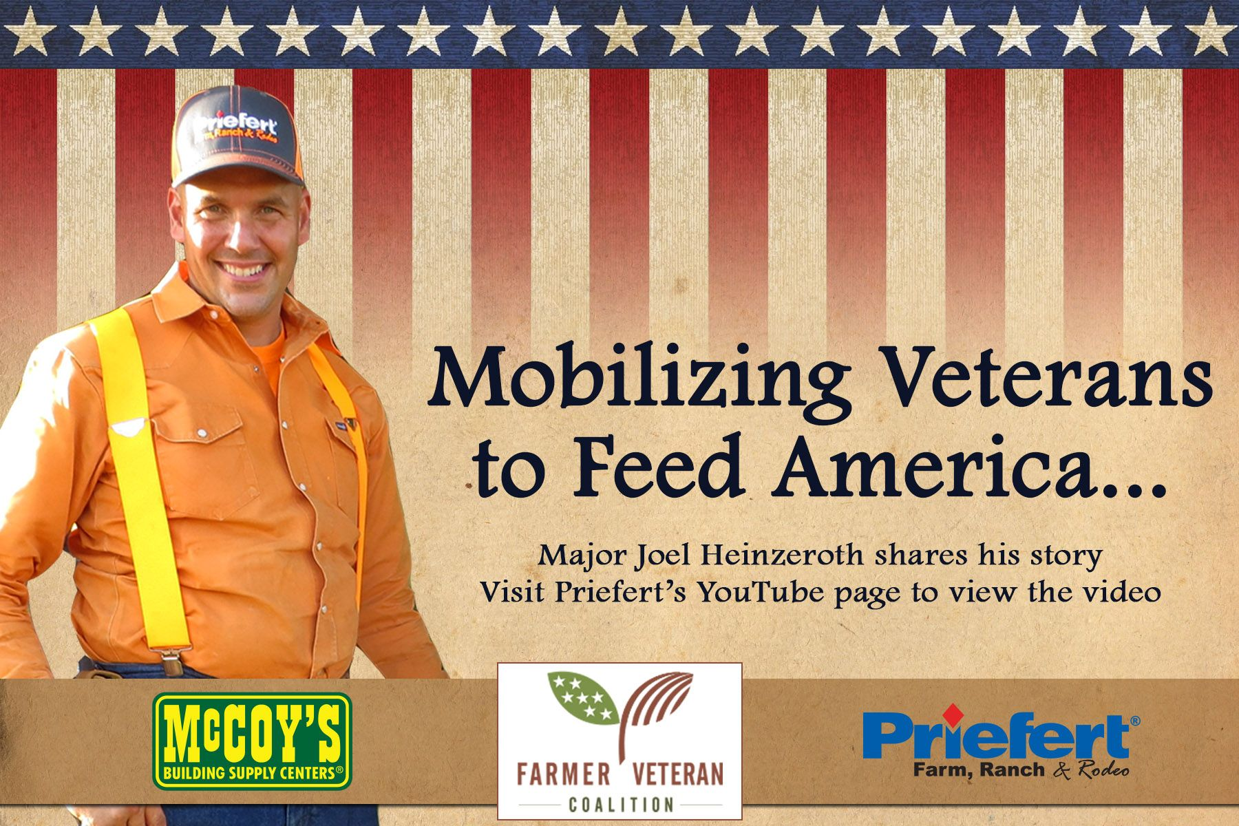 Priefert strongly supports our military!