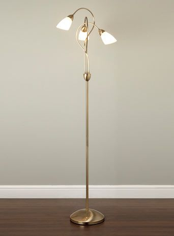 Ottoni floor lamp antique brass bhs £60 00