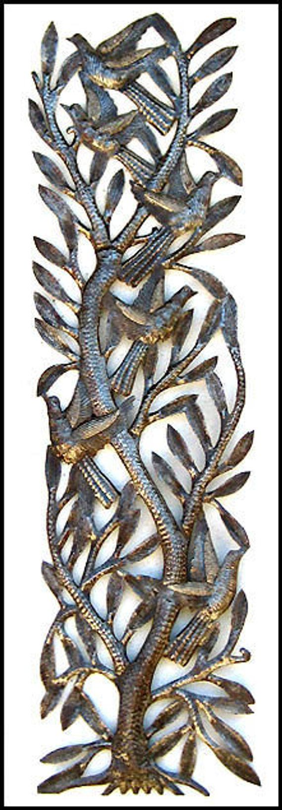 Outdoor metal wall art metal art metal wall decor haitian art