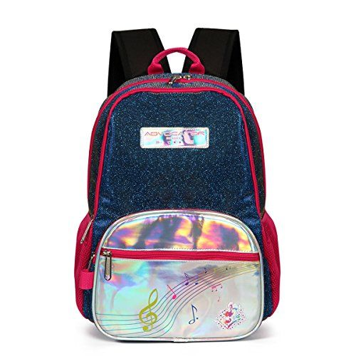 Advocator Bling Glitter Kids Backpack Sequin School Bag Toddler ...
