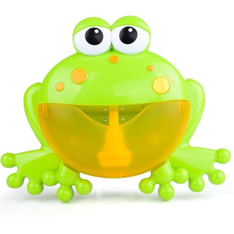 Children S Bubble Bathing Partner Frog Bubble Machine Music Bathroom Bathing Bath Toys Baby Bath Toys Bubble Maker Bubble Machine
