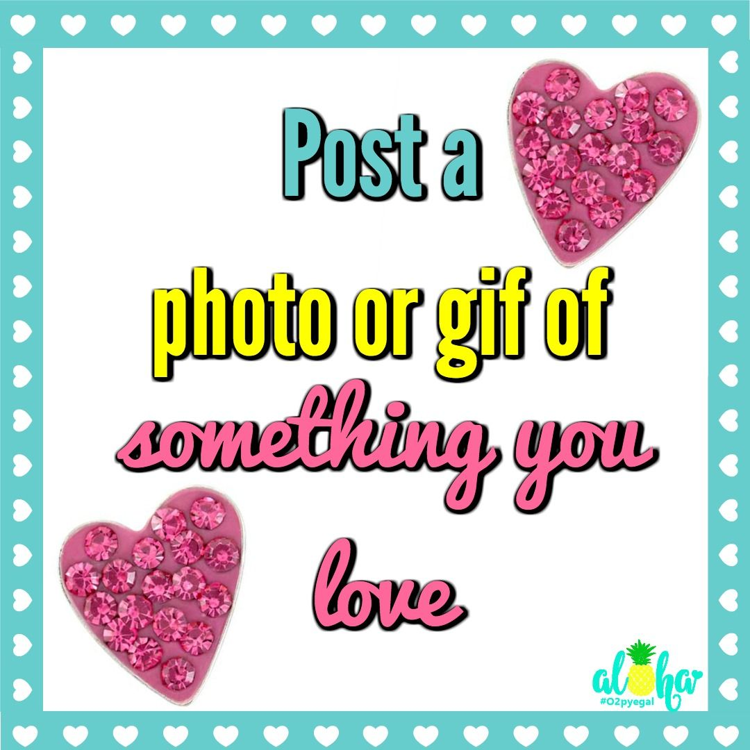 Let's have some fun. Post a photo or gif of something you love. Charms from Origami Owl Valentines Collection.  https://nancypye.origamiowl.com/shop/collections/valentinesday Join my VIP #origamiowl #valentinesday #valentinegiftideas #valentinescollection #love