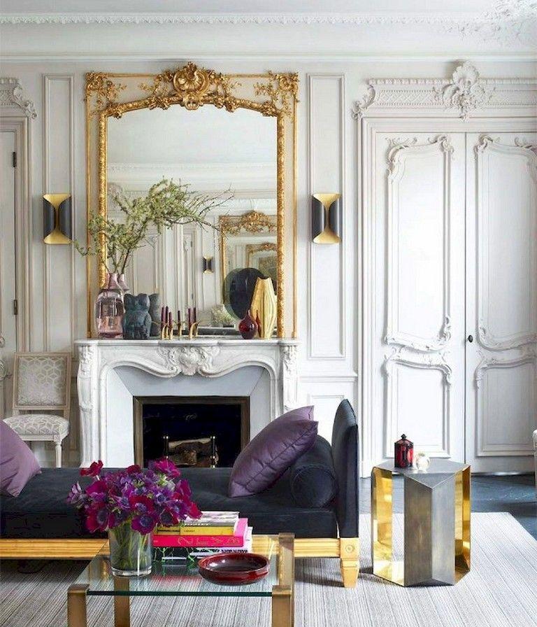 103+ Amazing Parisian Chic Apartment Decor Ideas ...