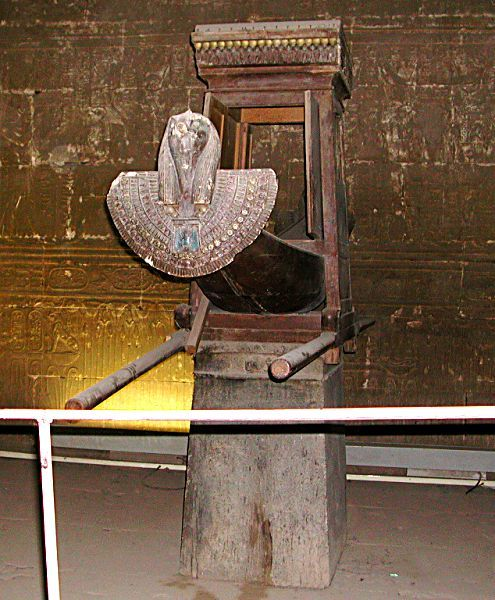 Edfu Horus Temple sacred barque