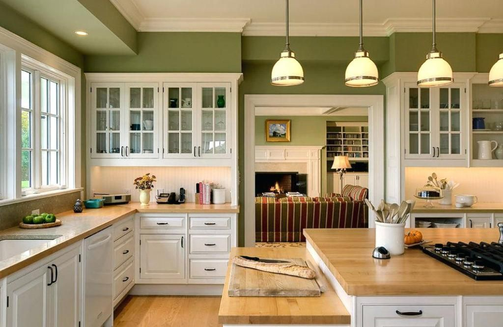 Olive Green Kitchen Cupboard Paint Wall Green Kitchen Walls Green Kitchen Cabinets Green Kitchen