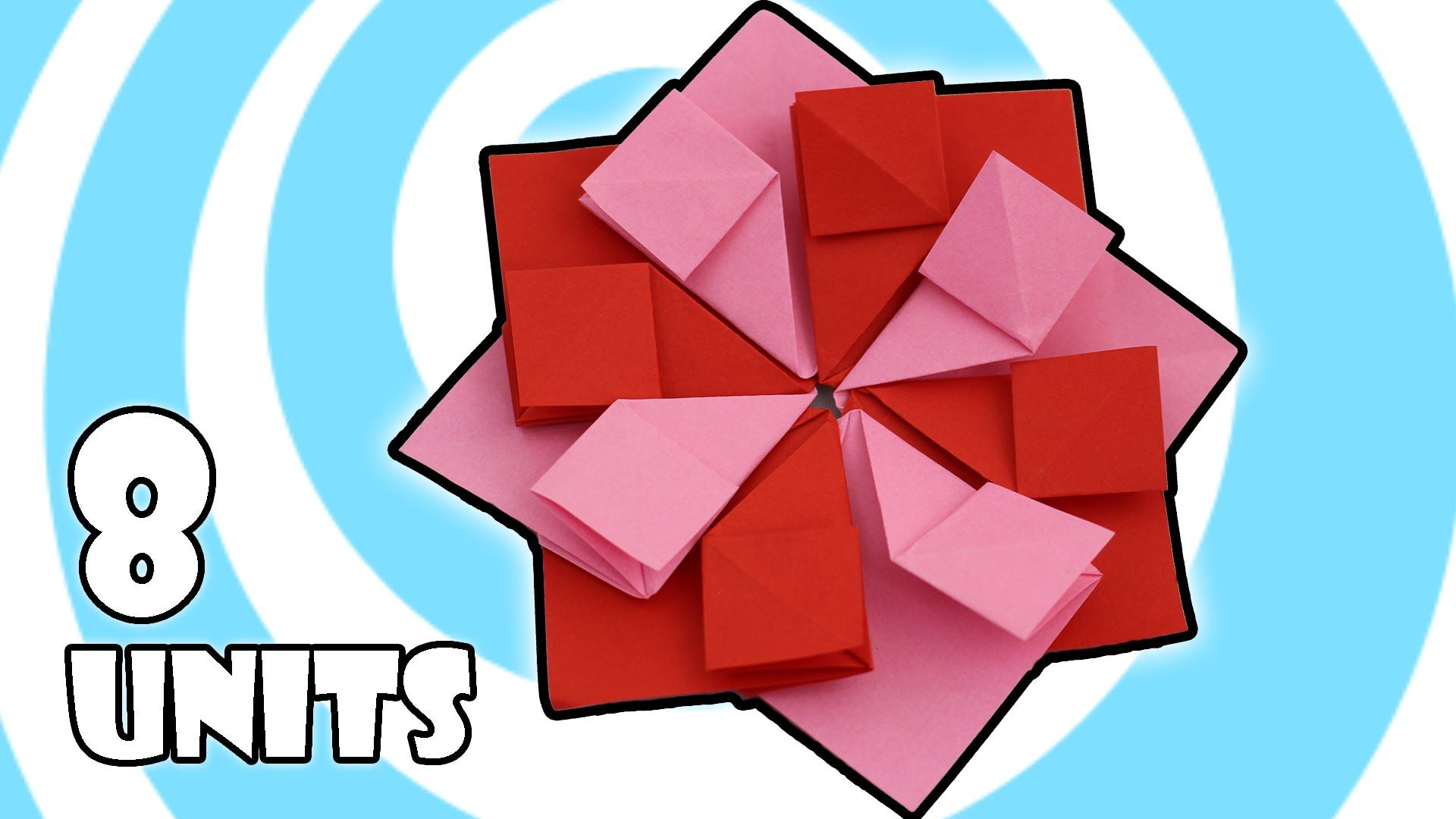 How To Make An Easy Modular Origami Tea Bag Flower Instructions