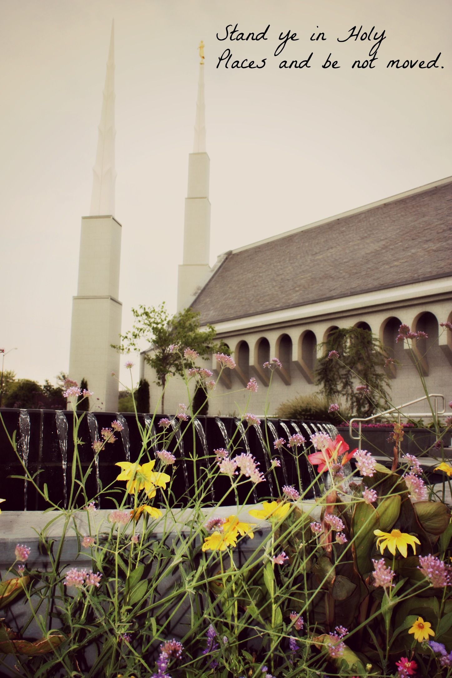 I took this photo and edited this photo of the Boise Idaho Temple