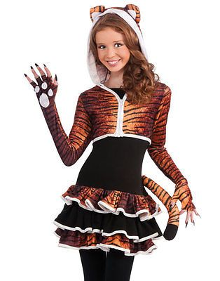 Young Girls Cute Tigress Kitty Cat Tween Animal Teen Halloween ...