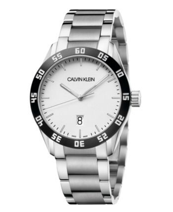 Calvin Klein Unisex Compete Stainless Steel Bracelet Watch 42mm & Reviews - All Fine Jewelry - Jewelry & Watches - Macy's -  Calvin Klein Unisex Compete Stainless Steel Bracelet Watch 42mm – Stainless Steel  - #42mm #bracelet #Calvin #Compete #fine #Jewelry #Klein #Macys #Reviews #snaketattoo #Stainless #Steel #tattooantebrazo #traditionaltattoo #Unisex #watch #Watches #watercolortattoo
