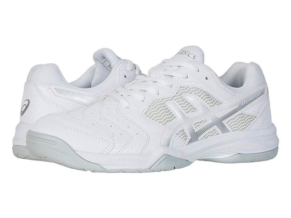 ASICS GEL Dedicate(r) 6 Men's Tennis Shoes WhiteSilver in