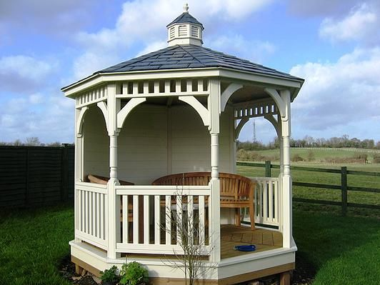 KIngwell Projects UK supplier of gazebos, pavilions, garden buildings