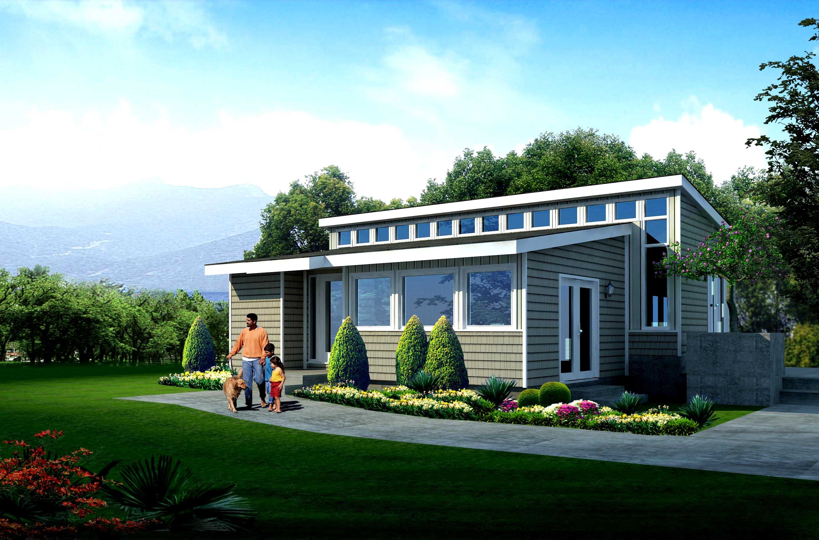 Modular Home Designs Exterior Modern Double Wide Mobile Homes
