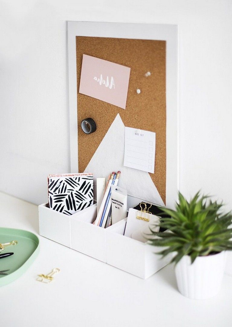 Desk Organizing Ideas