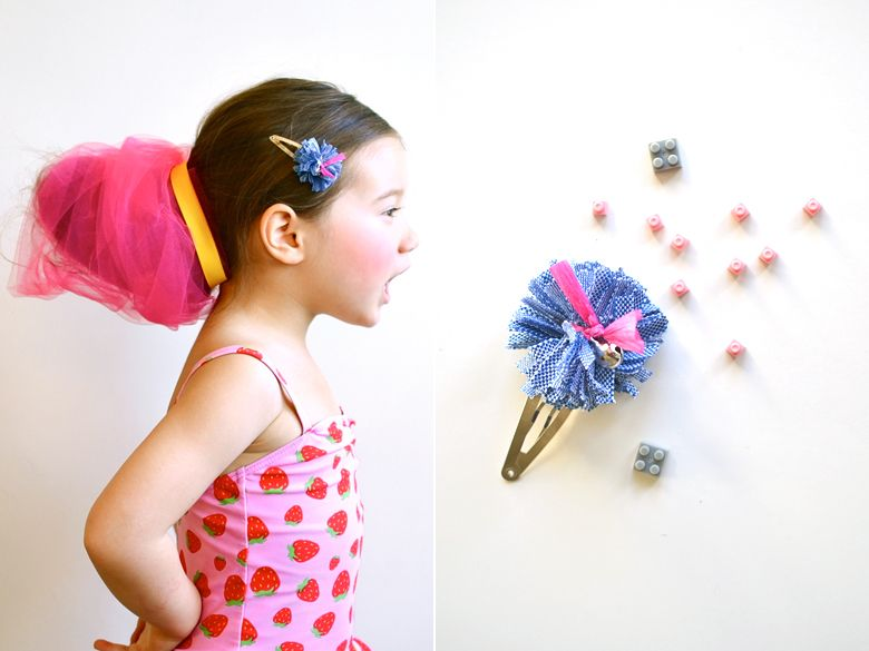 Daily Candy: Pom-Pom Clip | Cute Hair Accessories for Girls | Everywhere