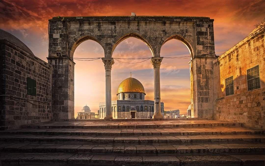 القدس بعدستي .. مسجد قبة الصخرة .. داخل الحرم القدسي ...
