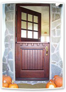 Custom Wood Exterior Doors, Screen Doors, Interior Doors, Shop ...