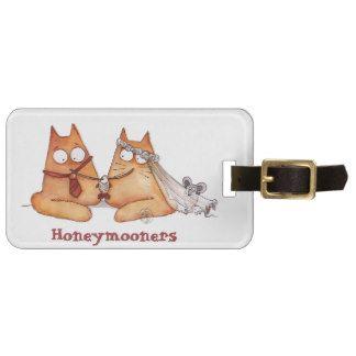 Luggage tag for Honeymoon (wedding)