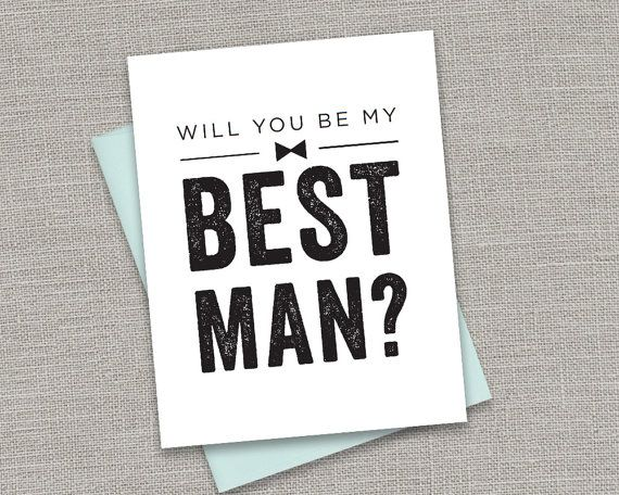 Printable Will You Be My Best Man 5 Card Design Bundle White Chalkboard Groomsman Usher Ring Bearer Jr Groomsman No Pw3004 Card Design Groomsmen I Am Awesome