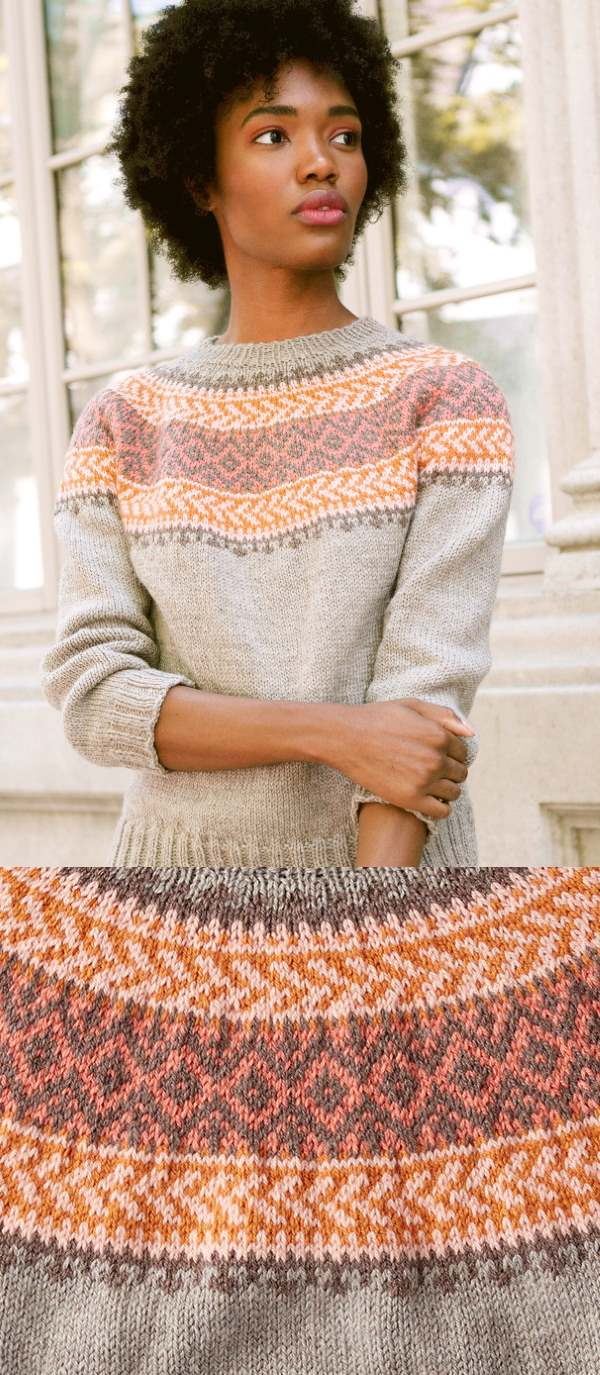 Photo of Free knitting pattern for a patons sweater