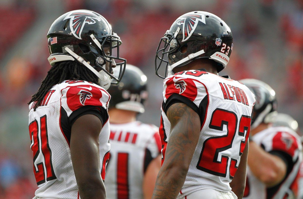 Alford says NFL is sleeping on Falcons cornerbacks