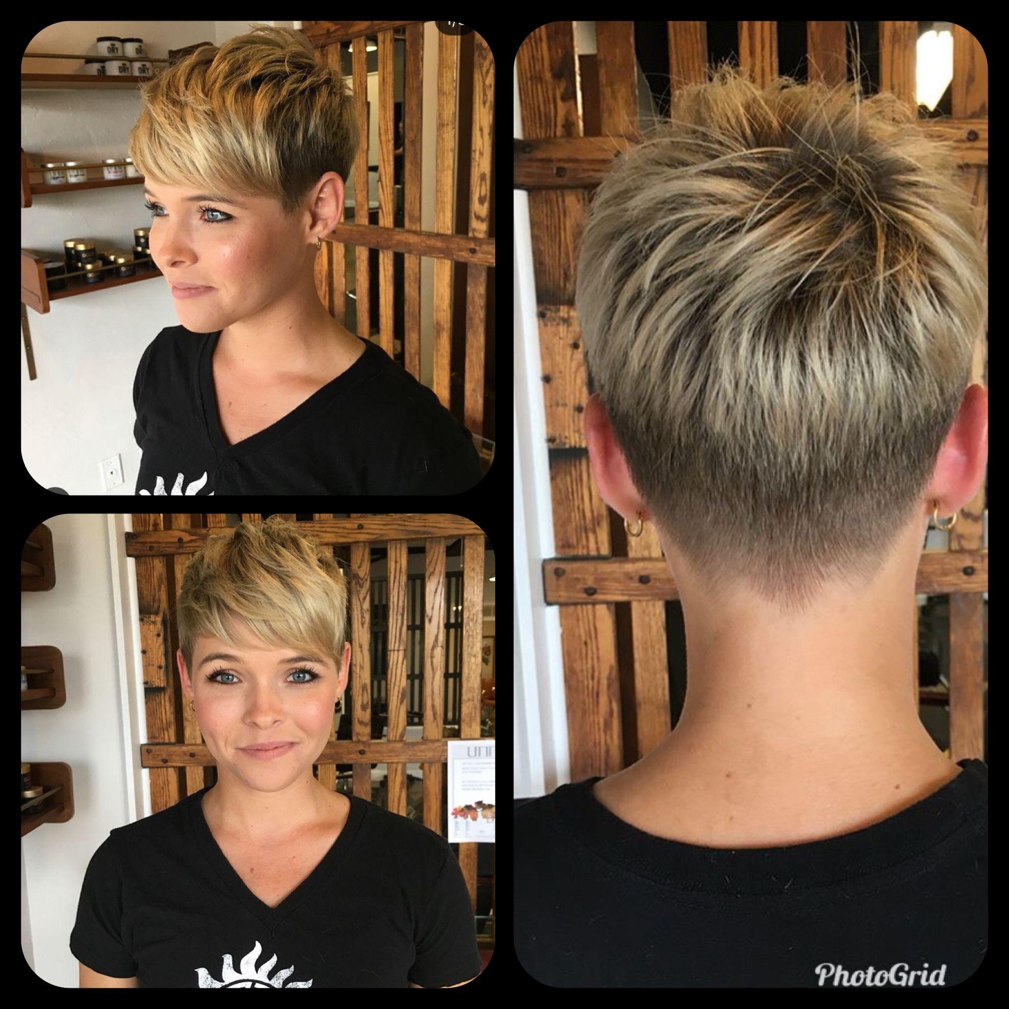Épinglé par Estelle Fromentot sur Cheveux courts en 2019