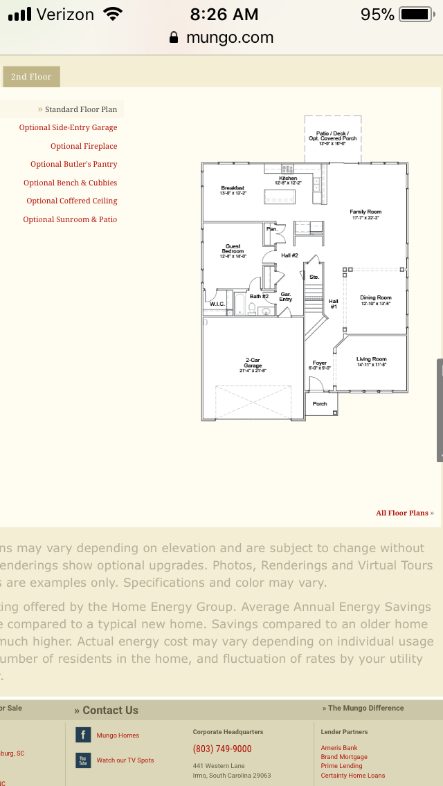 Pin By Martha Miller On Mungo Homes Worthing Coffered Ceiling Floor Plans 2nd Floor