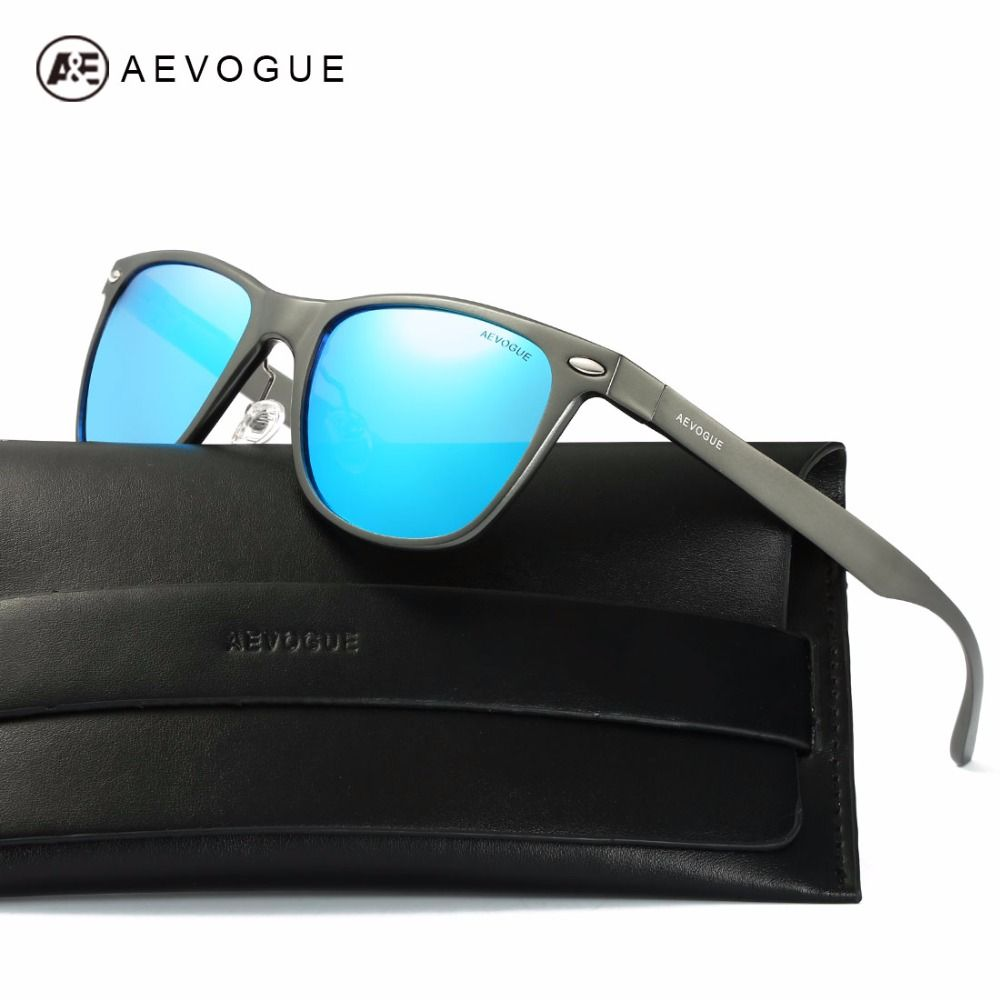 83774a4394 AEVOGUE Polarized Sunglasses Men Ultra-Light Aluminium Magnesium Frame  Summer Style Unisex Sun Glasses With