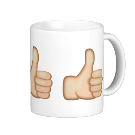Thumbs Up Sign Emoji Coffee Mug Zazzle Com Thumbs Up Sign Emoji Mug Mugs