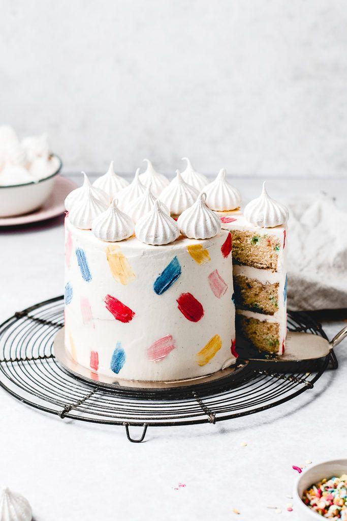 Funfetti Geburtstagstorte   – Food | Cakes, cupcakes and muffins