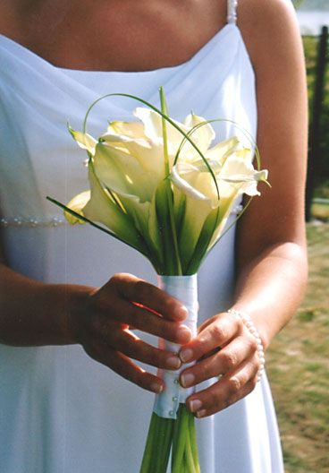 Small Calla Lily Bouquet Calla Lily Bridesmaid Bouquet