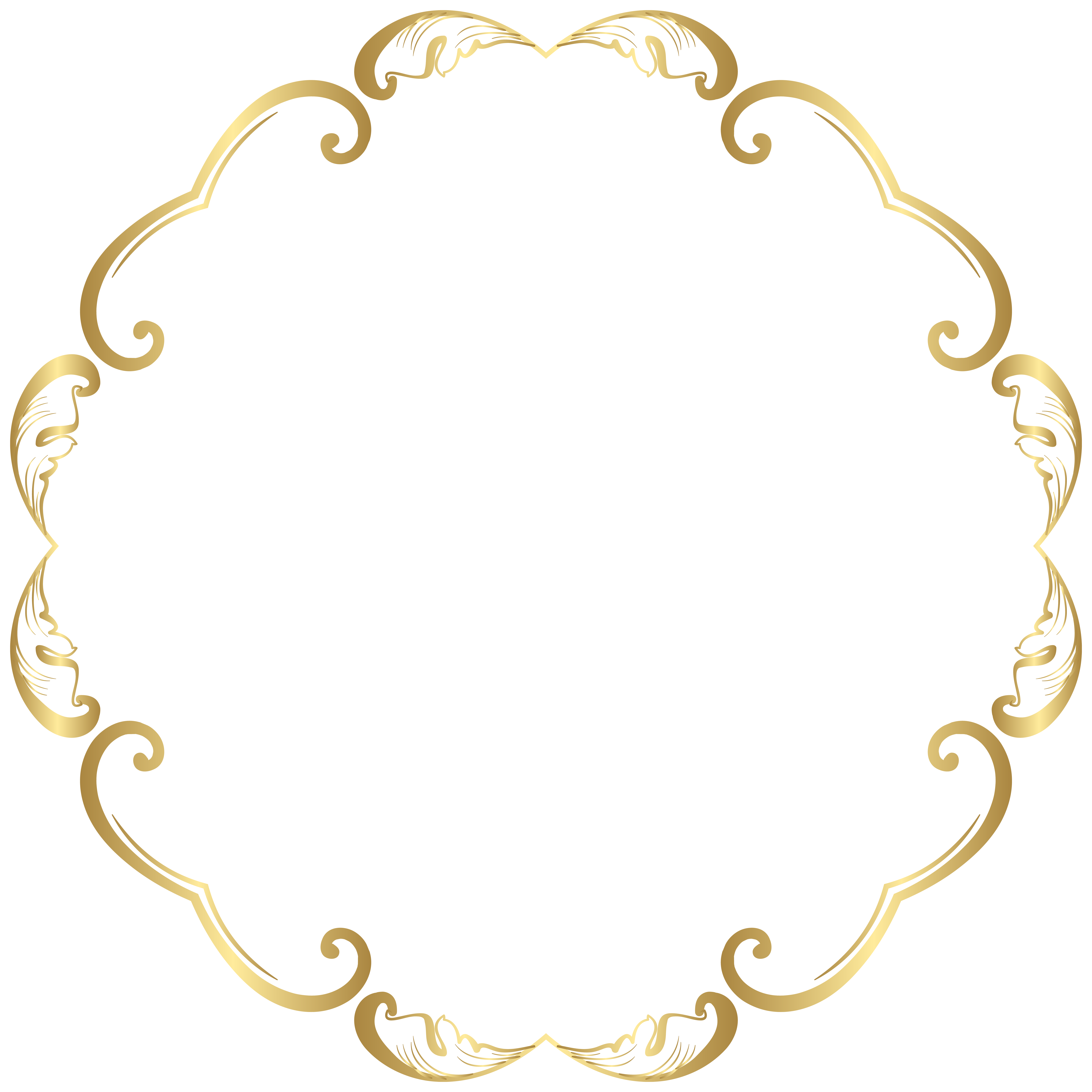Decorative Round Border Frame Transparent Image Gallery Yopriceville High Quality Images And Transparent Frame Border Design Round Border Flower Printable